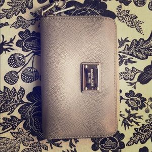 Michael Kors Grey Wallet Wristlet